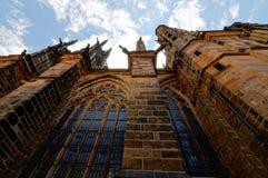 Tschechische Republik, Prag St. Vitus Cathedral, Wenceslas und Adalbert - die Stadtkathedrale in der gotischen Art Lizenzfreie Stockbilder
