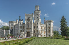 Tschechische Republik Schloss tief Stockfotos