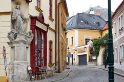 Tschechische Republik Straße Kutna Hora 14. Juni 2016 Stockfotografie