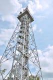 Tschechische Republik Turm Chlum-Kampfes Stockfotos