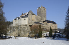 Tschechisches historisches Schloss Lizenzfreies Stockfoto