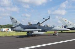 Tschechisches Kampfflugzeug Lizenzfreies Stockbild
