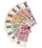 Tschechisches Korun Lizenzfreie Stockfotografie