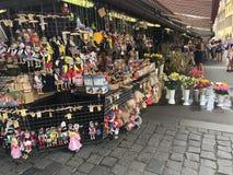 Tschechisches Marionettenspielzeug stockbilder