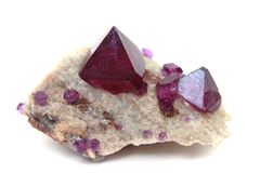 Tschermikit (look like amethyst) royalty free stock image