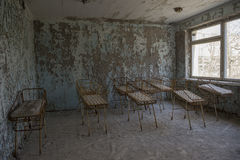 Tschornobyl-Geburtsraum Lizenzfreies Stockbild