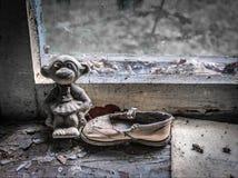 Tschornobyl-Kindergarten-Puppe Lizenzfreies Stockbild