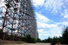 Tschornobyl- - Pripyat-Duga Radar Stockbilder