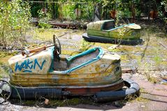 Tschornobyl- - Pripyat-Vergnügungspark Lizenzfreies Stockbild