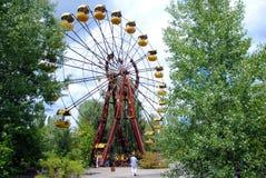 Tschornobyl- - Pripyat-Vergnügungsparkrad Lizenzfreie Stockfotos