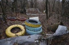 Tschornobyl, UKRAINE - 14. Dezember 2015: Tschornobyl Stockbild