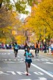 Tsegaye Kebede (Ethiopië) stelt 2013 NYC Marath in werking Royalty-vrije Stock Foto