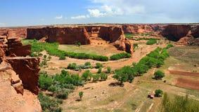 Tsegi förbiser, Kanjon de Chelly, Arizona Fotografering för Bildbyråer
