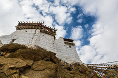 Tsemo castle, Ladakh, India Royalty Free Stock Photo