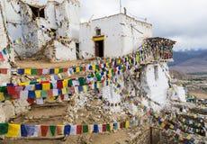 Tsemo castle in Leh, Ladakh, India Stock Images