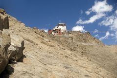 Tsemo Gompa, Leh Stock Photo