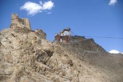 Tsemo Gompa, Leh, Ladakh, India Royalty Free Stock Images