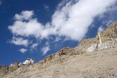 Tsemo Gompa, Leh, Ladakh, India Stock Image