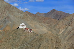 Tsemo gompa in Leh. Ladakh, India Stock Photos