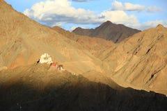 Tsemo gompa in Leh. Ladakh, India Stock Image
