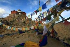 Tsemo gompa in Leh, Ladakh, India. Beautiful scenic view of Tsemo gompa in Leh, Ladakh, India Stock Images