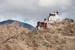 Tsemo Gompa, Leh, Ladakh, Jammu & Kashmir, India. View of Tsemo Gompa, Leh, Ladakh, Jammu & Kashmir, India Royalty Free Stock Image