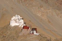 Tsemo monastery Stock Image