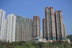 Tseung Kwan nolla, Hong Kong royaltyfria foton
