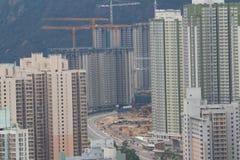 Tseung Kwan O, Hongkong stock afbeelding