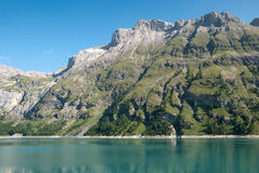 Tseuzier lake in Switzerland Stock Photos