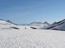 tsey d'ossetia de hautes montagnes de Caucase Photographie stock