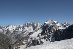 tsey d'ossetia de hautes montagnes de Caucase photo libre de droits