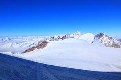 tsey för caucasus hög bergossetia Arkivbilder