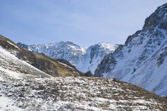 tsey ossetia υψηλών βουνών Καύκασου Στοκ Φωτογραφία