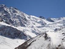 Tseyskoe dal av det norr Kaukasuset Royaltyfria Bilder