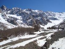Tseyskoe dal av det norr Kaukasuset Arkivbild