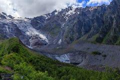 Tseyskoe gorge. Icehouse Stock Photo