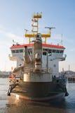TSHD Shoreway At Scheveningen Royalty Free Stock Image
