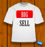 TSHIRT BIG SALE Stock Photo