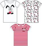 tshirt collection Stock Image