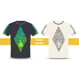 Tshirt Design Alchemical Bottle Royalty Free Stock Photography
