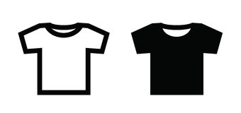 Tshirt icon Stock Images