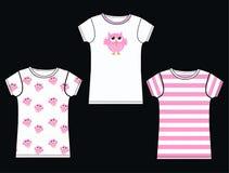 Tshirt pattern Royalty Free Stock Photography