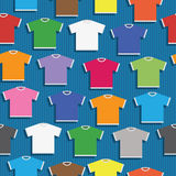 Tshirt pattern Stock Images