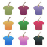 Tshirt tags Royalty Free Stock Image