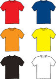 Tshirt Variation Royalty Free Stock Photos