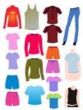 Tshirt vazio Fotos de Stock