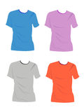 Tshirt vazio Imagem de Stock