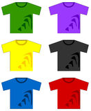 Tshirts Royalty Free Stock Photos