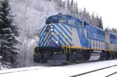 Tshiuetin Rail Transportation. First native own railway royalty free stock photo